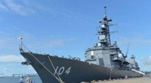"""日本""""雾雨""""号护卫舰开赴中东海域"""