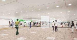 旅人们感动哭!新宿站「东西自由通路」开通,省力又省时!