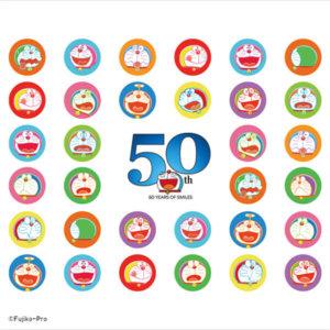 一直都是你的好朋友!《哆啦A梦》50周年与UT联名推出成人八款、儿童六款T恤