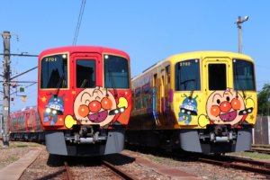 JR四国7月将引进新的面包超人列车