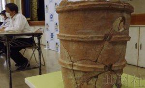 奈良挖竹笋儿童发掘古坟土器