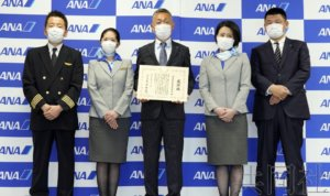 执飞日本政府武汉撤侨包机的机组人员接受采访
