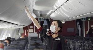 日航贯彻防疫对策 细心服务消除乘客不安