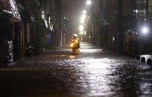 当百年洪灾遇上疫情日本7月雪上加霜