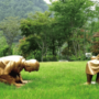韩国新建男子向慰安妇道歉雕像:外形酷似安倍引日本不满