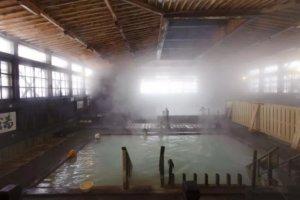 硫磺泉温泉