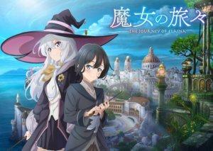 轻小说改编动画《魔女之旅》最新主视觉海报与宣传影片解禁预计2020年10月开始踏上旅途