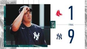 田中将大新冠肺炎检测准备开季合约年扛洋基队二号先发