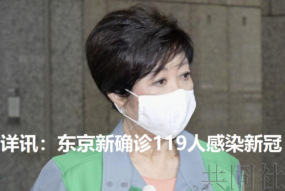详讯:东京新确诊119人感染新冠