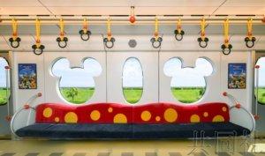 东京迪士尼度假区线迎来新型列车