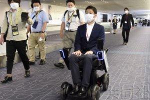 日航在羽田机场推出自动行驶轮椅服务