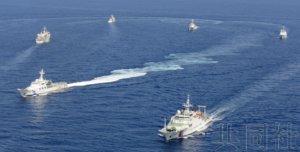 聚焦:日本政府警惕中国公务船在尖阁扣押日渔船