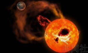 日本研究团队成功观测到超级耀斑
