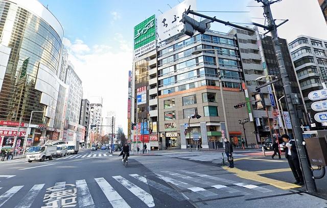 渋谷宮益坂下