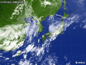7月若零台风生成将创日本观测史纪录