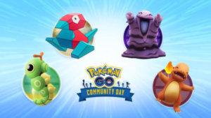 《Pokémon GO》9、10月社群日情报公开,「小火龙/绿毛虫/臭泥/多边兽」投票决定