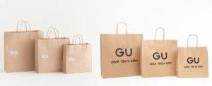 日本UNIQLO与GU购物纸袋拟9月起收费
