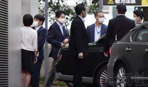 安倍接受单日体检后在东京私宅静养