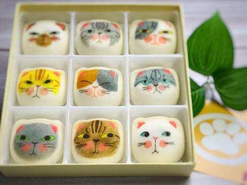 9種の猫を模った和風マシュマロ「マシュネコ」(開運 谷中堂)【連載:アキラの着目】