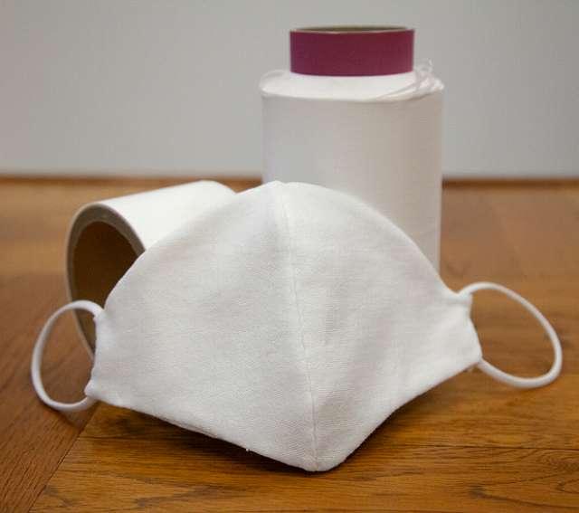 肌に優しく、何度でも洗える!和紙糸で作られた和紙マスク【連載:アキラの着目】
