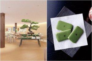 下次来这买京都伴手礼!在抹茶绿的森林中,逛街吃甜点!