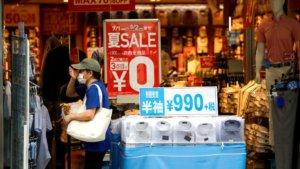 日本8月核心消费物价再度转负新首相面临考验