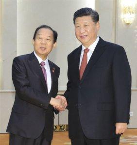习近平是否访日自民党高层:盼稳定气氛中实现