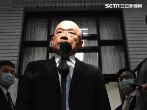 日媒正名谢长廷「大使」 苏贞昌用俚语赞:台湾被国际肯定