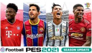 《eFootball PES 2021 SEASON UPDATE》正式发售收录获奖完整游戏、独占授权与最新球季资料