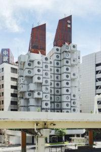 银座魔幻神秘的「中银胶囊塔」吸引无数建筑迷前往朝圣你也想住住看吗?