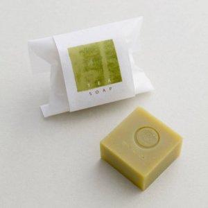 「祇园辻利」最新商品–「TEA SOAP」有机洁颜皂