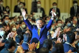 快讯:自民党总裁选举菅义伟赢得377票
