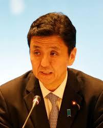 岸信夫出任日防卫大臣中国:避免与台官方交流