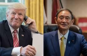 菅义伟就任日相首度电话会谈川普:随时可来电