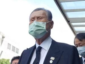 影/二度来台吊唁森喜朗:李登辉留下的讯息是自由民主