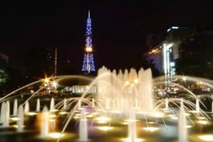札幌的象征、冬季夜景首选:大通公园、札幌电视塔