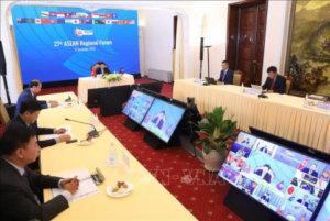"""ARF部长会议声明删除""""不行使力量""""表述"""
