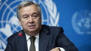 联合国秘书长称疫情后的复苏是实现减排的机会