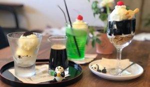 可爱熊猫咖啡厅「Parler Café」