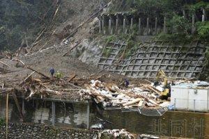 """台风""""海神""""导致九州4人下落不明 逾50人受伤"""
