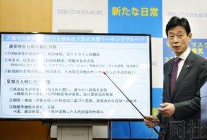 日本政府讨论大城市夜店街新冠对策