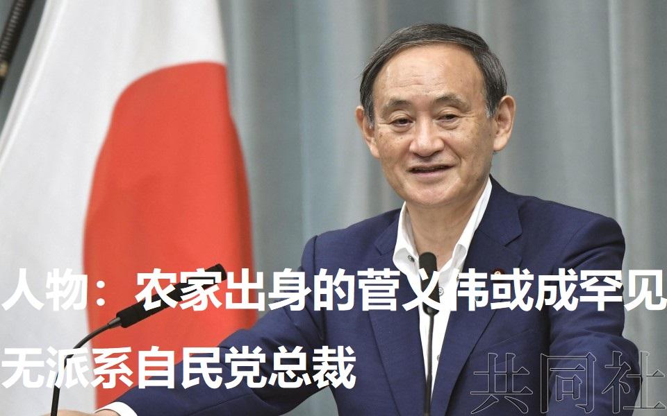 人物:农家出身的菅义伟或成罕见无派系自民党总裁