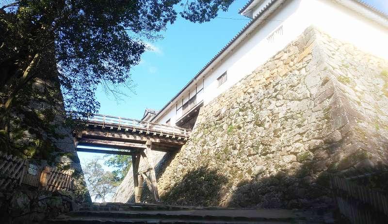 彦根城天秤櫓と廊下橋