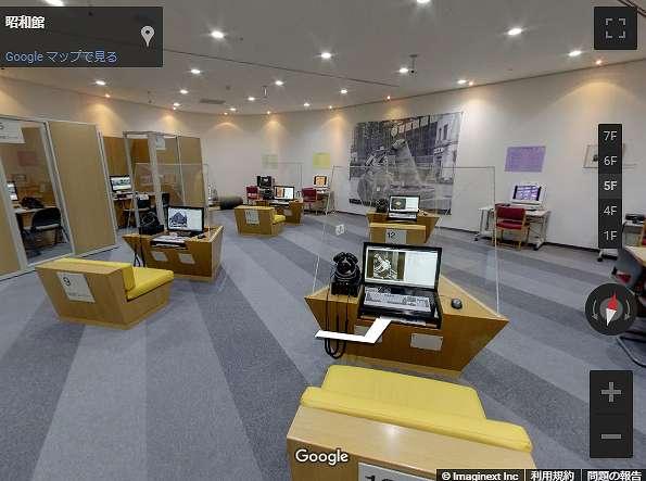 昭和館5階にある映像・音響室 昭和館 | National Showa Memorial Museumから引用