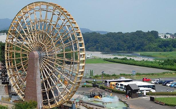 大水車 埼玉県立川の博物館(かわはく)公式HPから引用