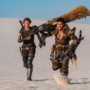 《魔物猎人》改编电影首支预告影片释出人类部队以机枪狩猎黑角龙