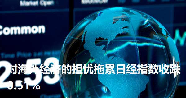 对海外经济的担忧拖累日经指数收跌0.51%