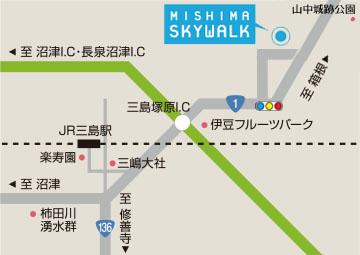 壮大な富士山を眺望できる、日本最長400mの人道吊橋「三島スカイウォーク」 三島スカイウォーク公式サイトから引用
