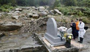 """""""海贝思""""台风登陆一周年 灾区举行追悼仪式"""