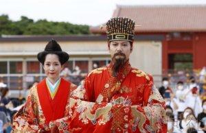 """那霸举行""""首里城祭"""" 营造琉球王朝气氛"""